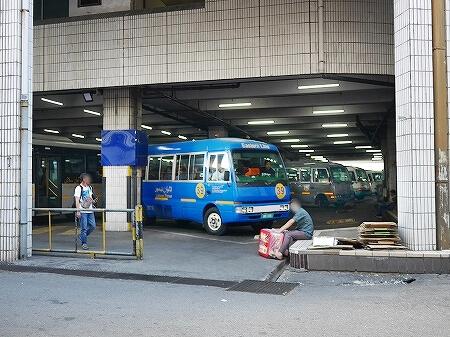 ブルネイのバスの乗り方 BSBバスターミナル 料金 値段 旅行記 ブログ バス停 路線図