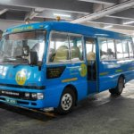 ブルネイのバスの乗り方 BSBバスターミナル 料金 値段 旅行記 ブログ バス停 路線図 バンダルスリブガワン 01番