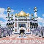 ブルネイ「ニューモスク」(ジャミ・アス・ハサナル・ボルキア・モスク)Jame 'Asr Hassanal Bolkiah Mosque ブログ 旅行記