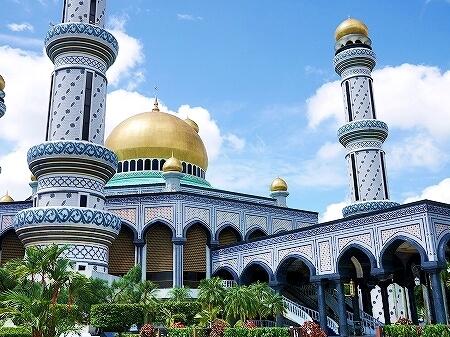 ブルネイ「ニューモスク」(ジャミ・アス・ハサナル・ボルキア・モスク)Jame 'Asr Hassanal Bolkiah Mosque ブログ 旅行記 観光