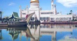 ブルネイのシンボル「オールドモスク」の見学方法と写真スポット♪(スルタン・オマール・アリ・サイフディン・モスク)