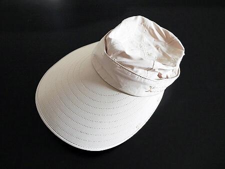 旅行におすすめ 顔もガードする フェイスカバー付き日よけ帽子 FUPUSUN 着画 ブログ アマゾン amazon サンバイザー UVカット 口コミ レビュー