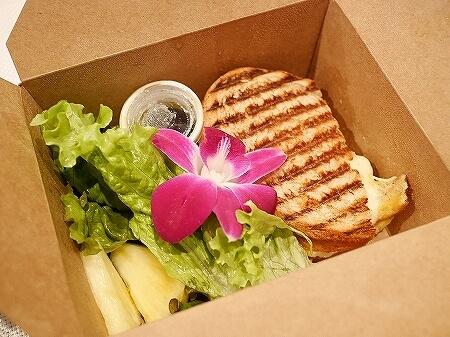 ハワイの人気店「アイランドヴィンテージコーヒー」グリルチーズサンドイッチ ウーバーイーツ UBER EATS 台場店 メニュー ブログ 口コミ 感想