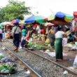 ミャンマー、ヤンゴン「ダニンゴン市場」駅自体が市場!カオス好きも納得のカオスがそこに