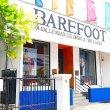 コロンボの人気お土産屋さん「BAREFOOT」のカフェでエビランチ♪味はともかくサービス最高♪(ベアフット・ガーデンカフェ)
