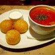 ウラジオストク「Pizza M Cafe」ボルシチが評判だけどイカも美味!「プリモリエホテル」内 の洗練レストラン(カフェ・ピッツァM)